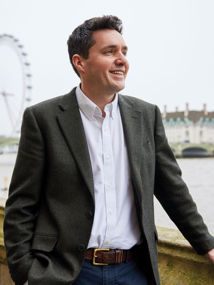 Huw Merriman MP, photographed by Baldo Sciacca