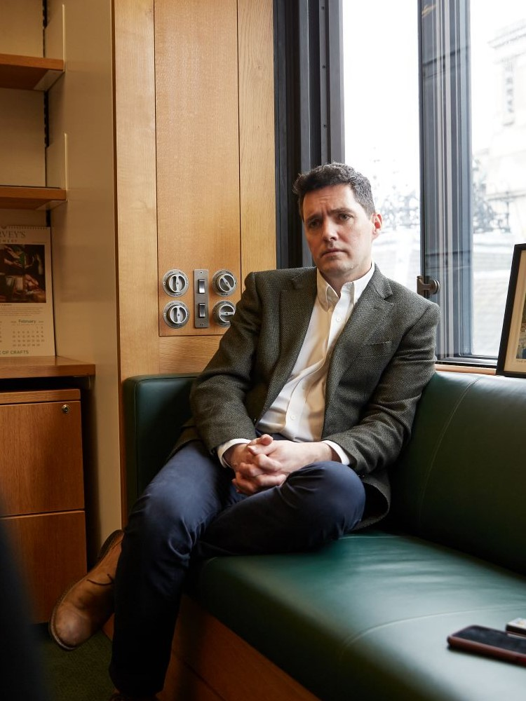 Huw Merriman MP, by Baldo Sciacca